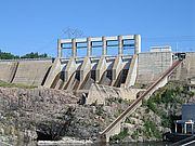 TDI's proposed power line would transmit electricity from hydro-dams like this one in Northern Quebec to New York City. Photo by Wikipedia.